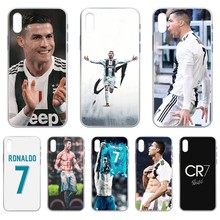 Cristiano Ronaldo CR7 Football star Transparent Phone Case For iphone 4 4S 5 5C 5S 6 6S PLUS 7 8 X XR XS 11 PRO SE 2020 MAX max star page 4