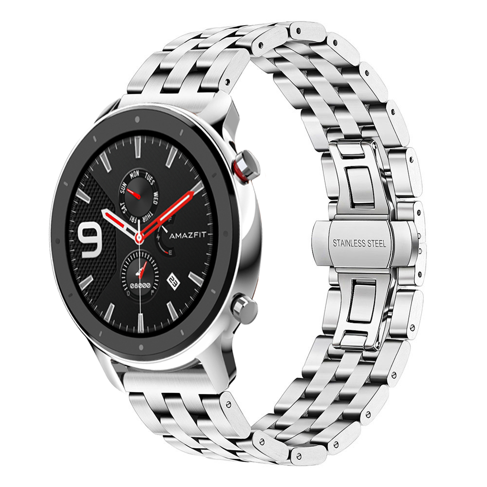 For-Huami-Amazfit-GTR-47mm-Watchband-Metal-Wrist-Strap-Stainless-Steel-Bracelet-For-Amazfit-GTR-42mm