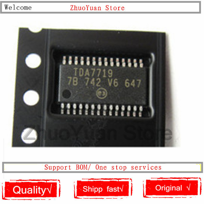 1PCS/lot New Original TDA7719 TSSOP28 TDA7719TR IC Chip