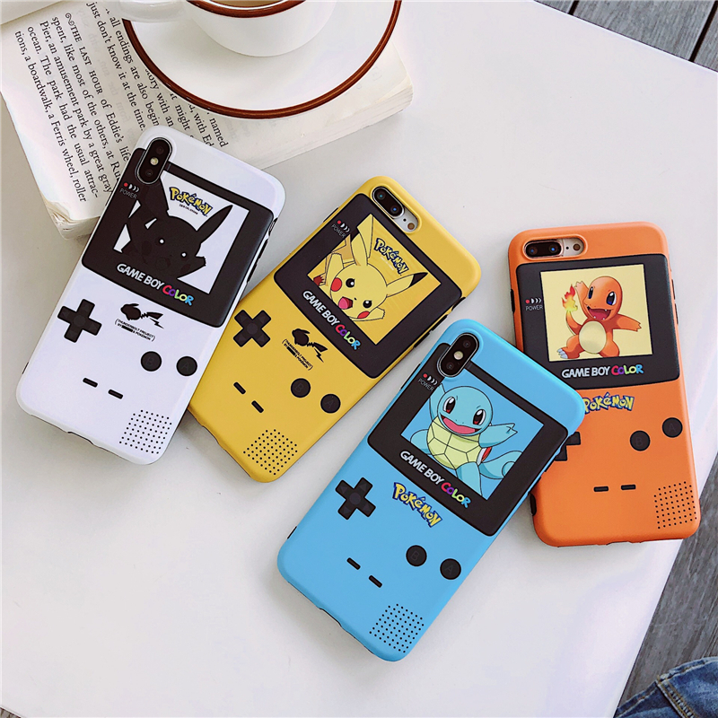 Cute Pokemon Mobile Cover Case For iPhone 6 - 11 pro
