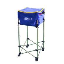 Tennis Training device Receiving Cart Box basket Bag 160pcs Softball baseball moving multi-ball Storage basin Height adjustable