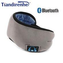 Auriculares inalámbricos con Bluetooth v5.0, dispositivo para llamada, música y sueño, antifaz para dormir, transpirable, 2020