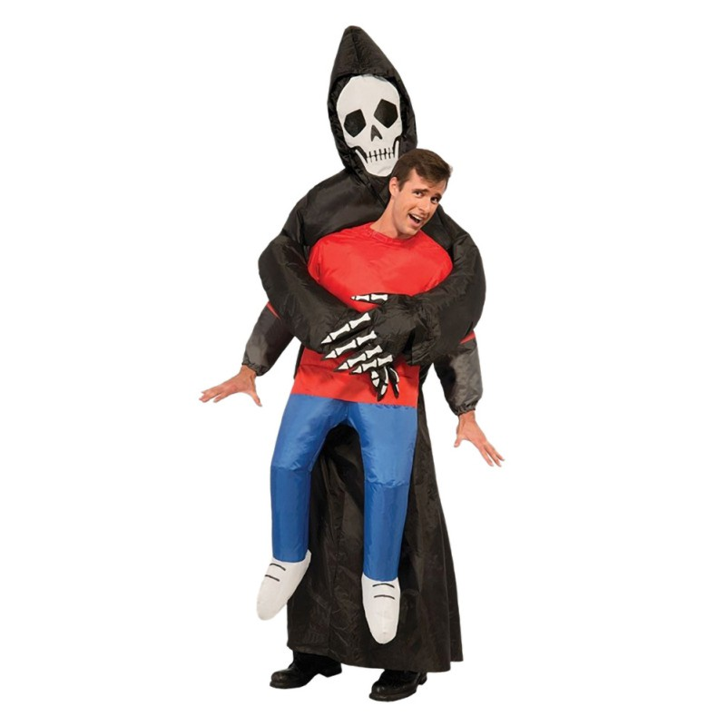 Halloween Inflatable Skeleton Costume Decoration Fancy Dress Party Accessories