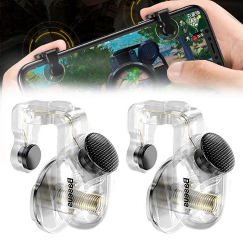 Pubg Controller Shooter Target Key Universal Assistant Tool Mobile Gaming Trigger Fire Clamp Accurate Button Sensitive Tool in Replacement Parts Accessories from Consumer Electronics