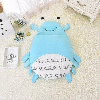 Nordique Cartoon Beetle nouveau-né bébé chaud sacs de couchage infantile coton lange d'emmaillotage emmaillotage poussette Wrap bambin couvertures