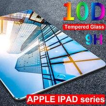 С защитой от УФ-светильник закаленное Стекло для Apple iPad Air 10,5 мини 5 4 3 2 Экран Защитная крышка для iPad Pro 9,7 11 защитная пленка