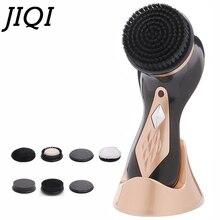 JIQI компактная портативная ручная полировальная машина для обуви, Автоматическая Чистящая Щетка для обуви, ЕС, США