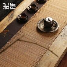 Бамбуковый коврик в китайском стиле чайный столик настольный