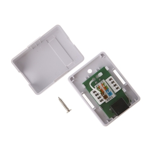 Image 5 - Caja de montaje para escritorio, modelo Cat5e RJ45 8P8C HM HB01 UTP sin blindaje, puerto único, Q1JC