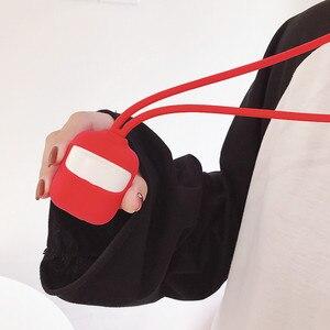 Image 4 - Силиконовый чехол для AirPod Bluetooth покрытие для наушников Apple Air Pod защитный чехол Аксессуары для Apple Airpods зарядная коробка