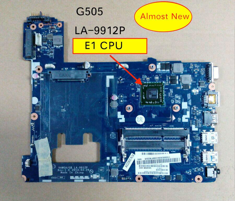 LA-9912P Fit Lenovo ideapad G505 Mainboard With E1 CPU Motherboard System board