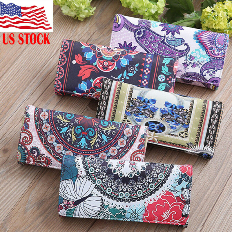 High Quality Leather RFID Wallet Women Hasp Walets Leather Woman Handbag Long Woman Wallets Ladies Clutch