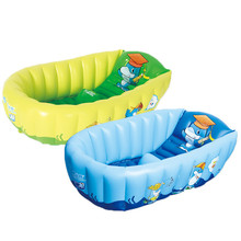 Baby Inflatable Bath Tub PVC Tubs Shower Set Portable Children 's Household Smal