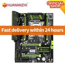 Huananzhi x79 verde 2.49 v3.1 x79 placa-mãe lga2011 atx usb3.0 sata3 pci-e nvme m.2 ssd suporte reg memória ecc e xeon e5