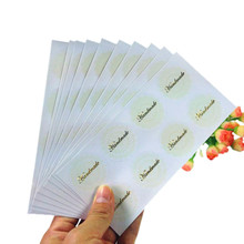 80pcs/pack Round Lace Handmade Bronze Sealing Sticker Paper Label Kids Stationery Stickers