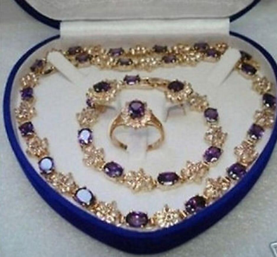 Bijoux fantaisie boucle d'oreille Bracelet collier bague ensemble AAA GP plaqué or mariée large montre ailes reine JEWE