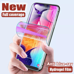 Anti Blue-ray hydrogel film For Samsung Galaxy S20 fe S8 S9 S10 Plus Note 20 Ultra 10 Lite Screen Protector A51 A71 A50 A71 A30