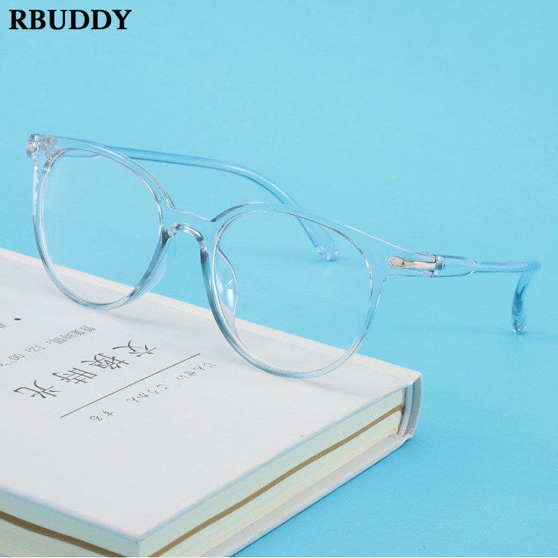 RBUDDY 2020 Women Men Glasses Computer Reading Goggles Glasses For Women Unisex Eyewear Frame Women's Anti Blue Ray Eyeglasses