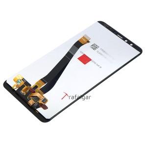 Image 3 - Trafalgar display para huawei y9 2018 lcd tela de toque digitador assembléia com moldura para huawei y9 2018 lcd FLA LX1 lx3