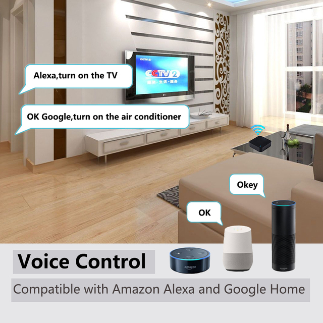 IR Remote Control Smart wifi Universal Infrared Tuya for smart home Control for TV DVD AUD AC Works with Amz Alexa Google Home 4