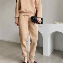 Casual Pants Embroidery Silk Stretch Velvet Cotton Small Simple Mulberry Plus