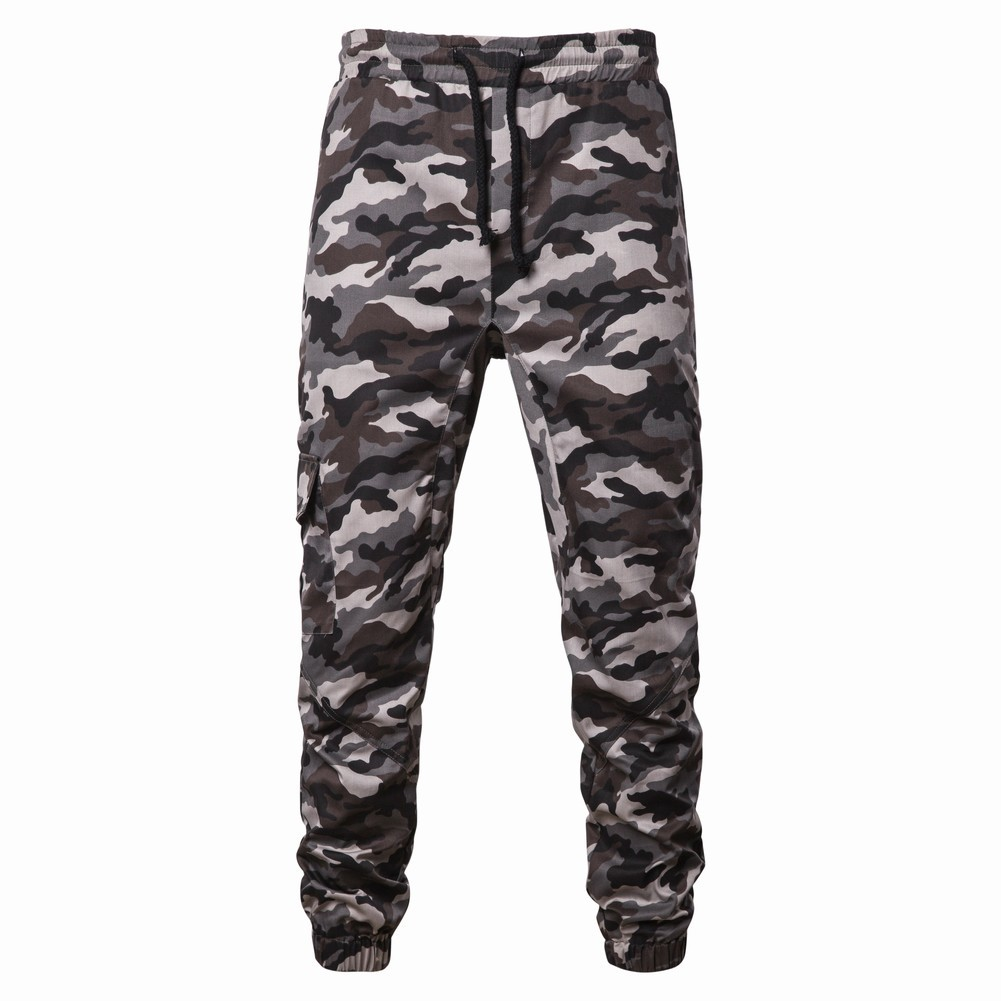 Special Offer 2019 Spring And Autumn New Style Hot Selling Europe And America Men's Camouflage Printed Casual Casual Sports Pant