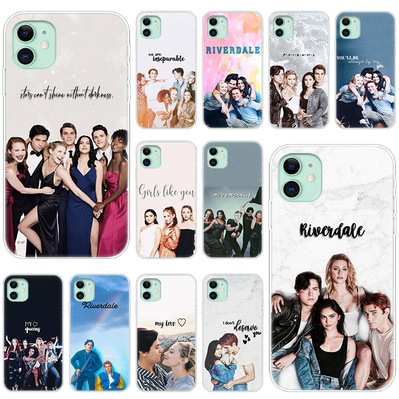 Hot Riverdale Southside Serpents Soft Silicone Case For Apple IPhone 11 Pro XS Max X XR 6 6s 7 8 Plus 5 5s SE Fashion Cover