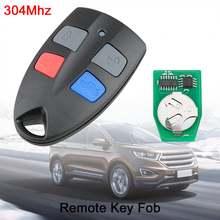 1 шт Черный Прочный 304 МГц 4 кнопки Автомобильный Брелок дистанционного