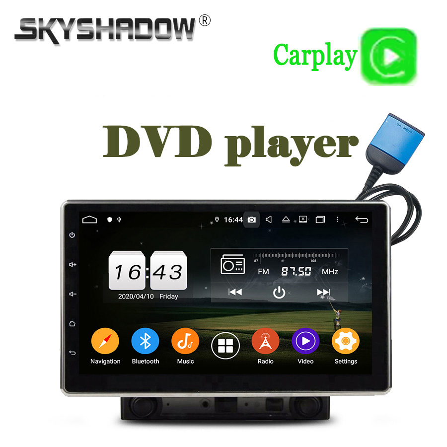 """PX6 ajustable DSP IPS 10,1 """"Android 9,0 64G + 4G LTE SIM reproductor de DVD del coche GPS RDS Auto Radio Wifi BT 5,0 2Din para Nissan universal"""