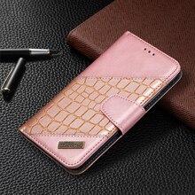 Leather Case For Xiaomi Redmi Note 9S 9 8T 8 7 Pro Max 8A 7A 10X Crocodile Luxury Flip Book Case Cover For Xiaomi Mi Note 10 Pro