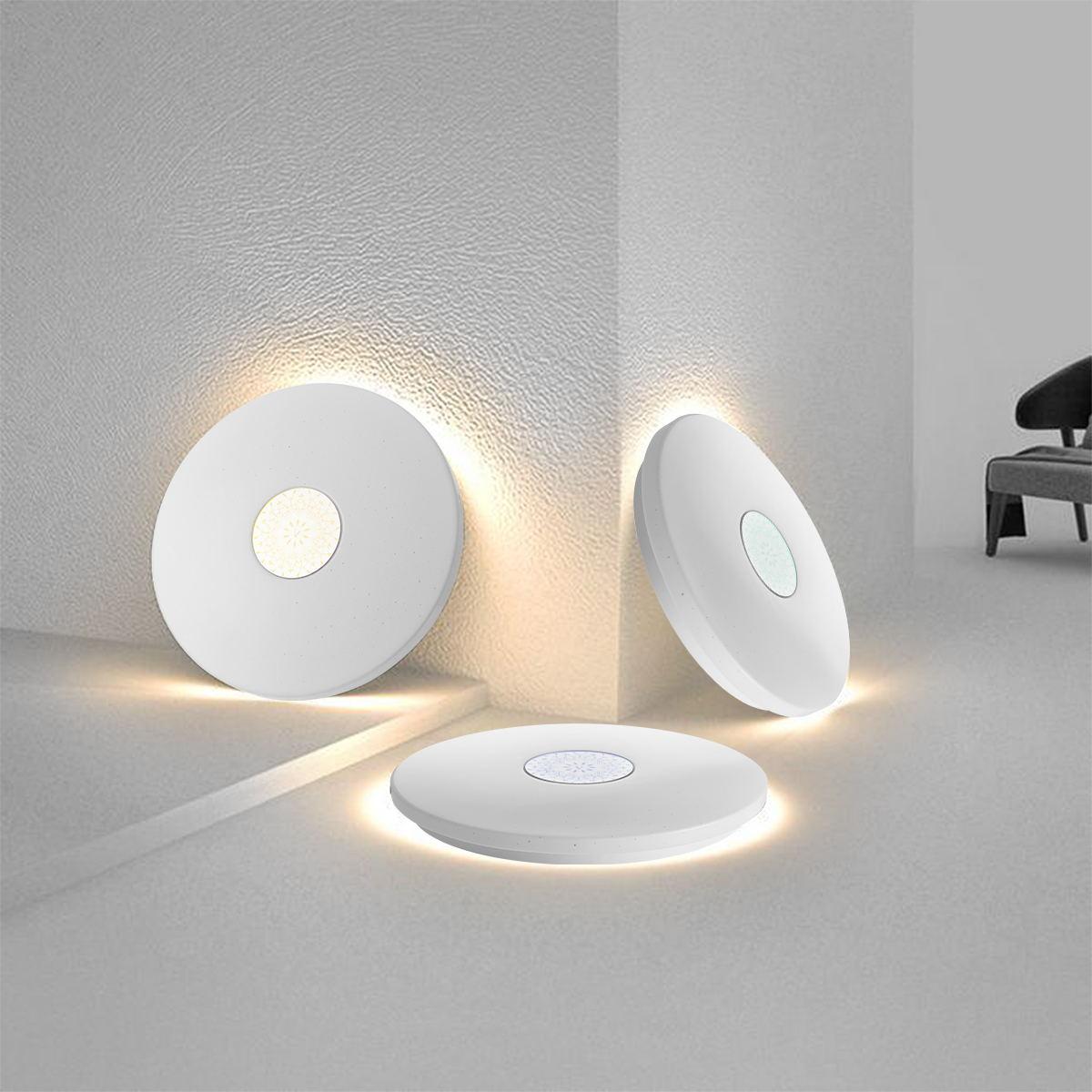 Iluminação led luz de teto redonda mestre quarto sala estudo corredor iluminação moderna estilo contratado