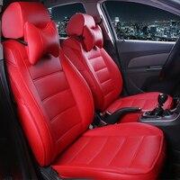HLFNTF Custom leather Car Seat Covers For Mazda 6 3 CX 5 CX7 626 M3 M6 Axela Familia car accessories car styling seat cushion