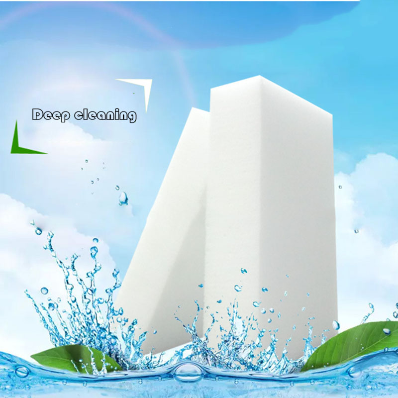100 Pieces / 50 Pieces Melamine Sponge Magic Sponge Melamine Cleaner for Kitchen Office Bathroom Cleaning Nano Sponges