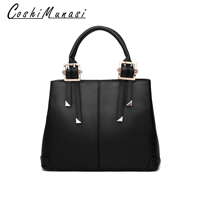 Vintage Leather Cross Body Bags For Women 2020 New European And American Fashion Handbag Luxury Quality Brand Big Shoulder Bags