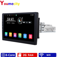 Ośmiordzeniowe/10 cali/2 din Android 9.0 uniwersalny samochodowy odtwarzacz multimedialny Radio podwójne DVD nawigacja GPS Stereo PC wideo Wifi BT