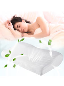 Neck-Pillow Sleeping-Beding-Pillows Memory-Foam Butterfly-Shaped for 2PCS