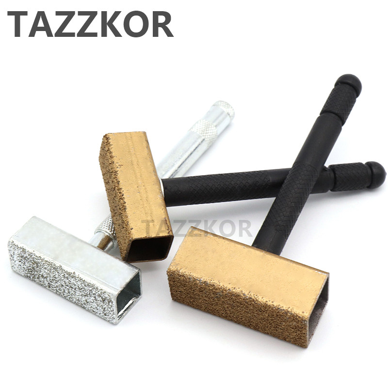 Diamond Grinding Disc Wheel Stone Bar Dresser Bench Grinder Dressing TAZZKOR 105-110mm For Wood Working Stone Bench Grinder Tool