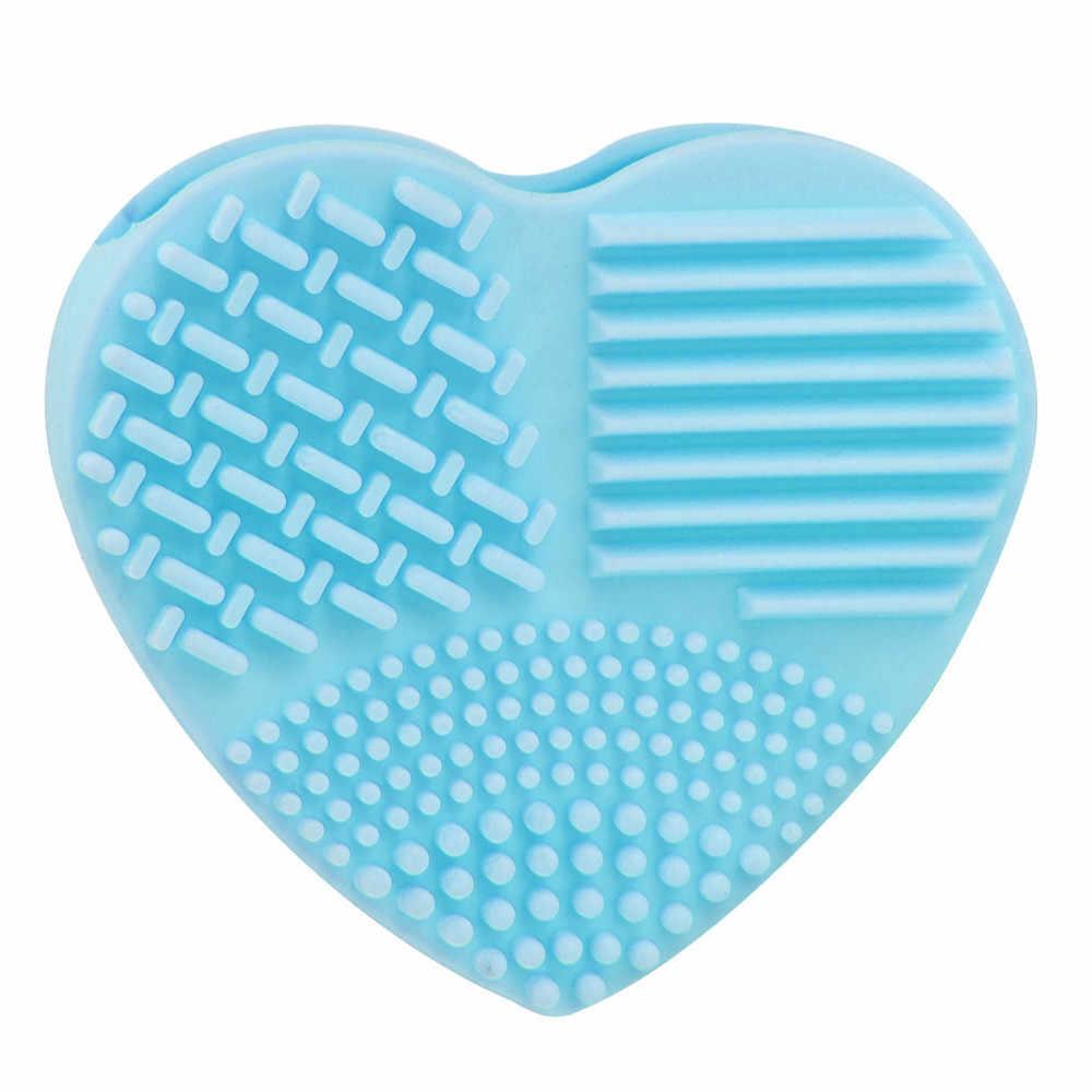 Najnowszy silikonowy moda jajko rękawice do czyszczenia do makijażu szczotka do mycia tak gorąco Scrubber narzędzia sprzątaczki profesjonalny kosmetyk szczotka do jajek