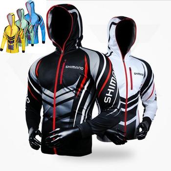 2019 nowa odzież wędkarska z długim rękawem męska kurtka przeciwsłoneczna oddychająca płaszcz koszula wędkarska kurtka do wędkowania wspinaczka ubrania wędkarskie tanie i dobre opinie