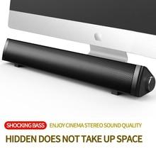 Компьютерный динамик сабвуфер беспроводной Bluetooth динамик Саундбар ТВ бас объемный звук коробка для ПК ноутбук телефон планшет MP3 MP4