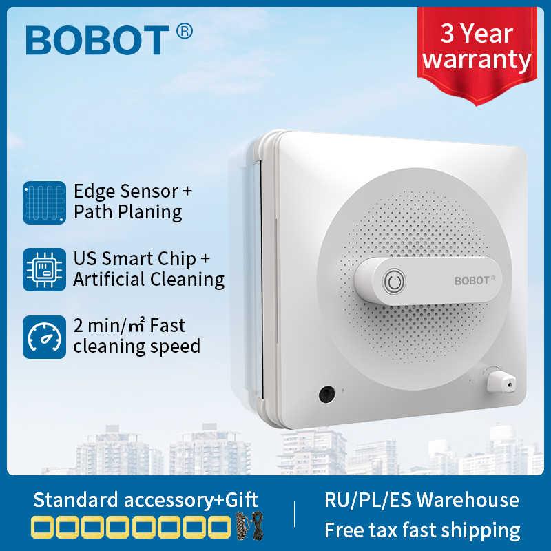 Robot aspirador BOBOT, Robot limpiador de ventanas para el lavado de vidrio de la casa 2500 pa, Robot aspirador, ventana de succión, anticaída
