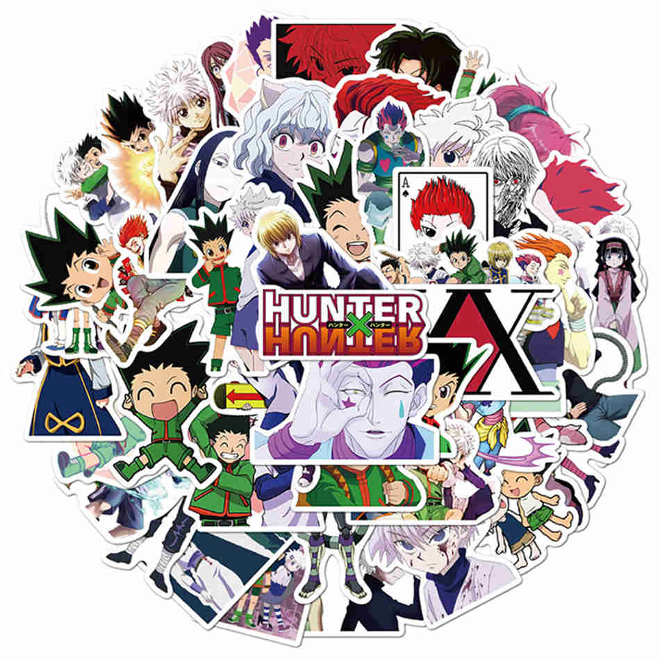 Hunter X Hunter Stickers - 10/30/50pcs DIY Graffiti Waterproof Stickers Pack