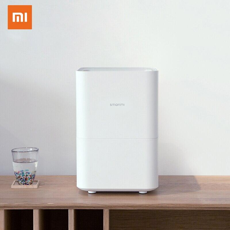XIAOMI MIJIA SMARTMI 気化式加湿器 2 家庭用空気減衰装置アロマディフューザオイルミストメーカー mijia アプリ制御
