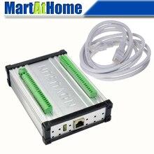 NVEC400 Ethernet MACH3 3/4/5/6 Axis CNC движения Управление карты Управление; 400 кГц 12~ 32VDC набор «сделай сам» для фрезерный станок с ЧПУ гравировальный станок