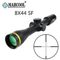 MARCOOL 8x44 SF Airsoft Guns Collimator Telescopic Sight Rifle Scope Look For Luneta Para Air rifle Hunting Optics