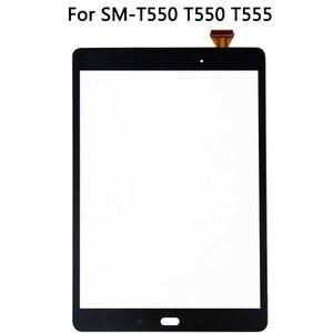 Image 2 - Orijinal Samsung Galaxy Tab için E SM T550 T550 T555 dokunmatik LCD ekran ekran sensörü cam sayısallaştırma paneli T550 LCD dokunmatik Panel