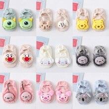 Baby Cartoon Socks Fashion Doll Socks Newborn Anti slip Toddler Socks Boys Girls Invisible Socks Infant Cotton Socks