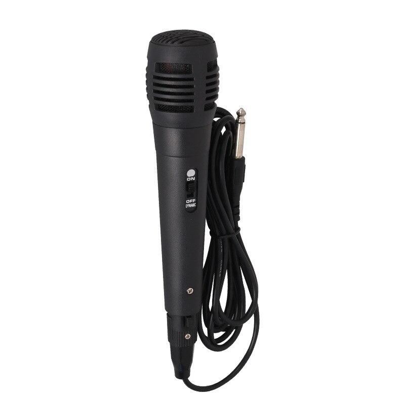 Портативный профессиональный микрофон для караоке, запись в реальном времени, мобильный телефон, компьютерная запись, шумоизоляция, микроф...