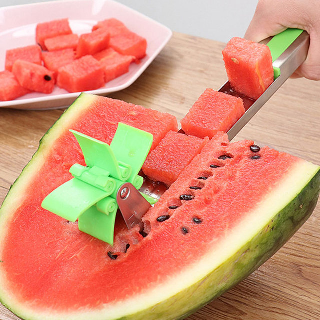 Stainless Steel Watermelon Slicer Cutter Knife Corer Fruit Vegetable Tools Kitchen Gadgets Accessories utensilios cooking 5