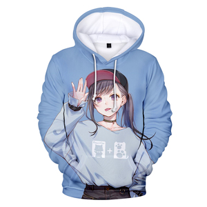 Image 3 - Japan anime 3D Ahegao Hoodies Hooded Women Men Funny Shy Girl Face Sweatshirt Hentai Manga Streetwear Harajuku High Quality Tops
